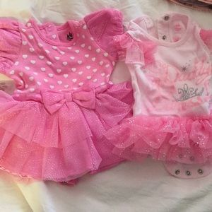 Pink Baby Disney outfits!